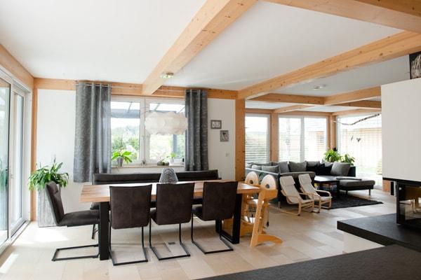 Ein echtes Holzhaus